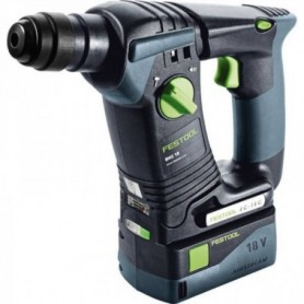 Festool - 574720 -  Martillo perforador a batería BHC 18 Li 5.2-Plus - 1
