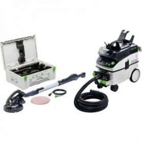Festool - 575446 -  Lijadora de pared LHS 225-IP/CTL 36-Set PLANEX - 1