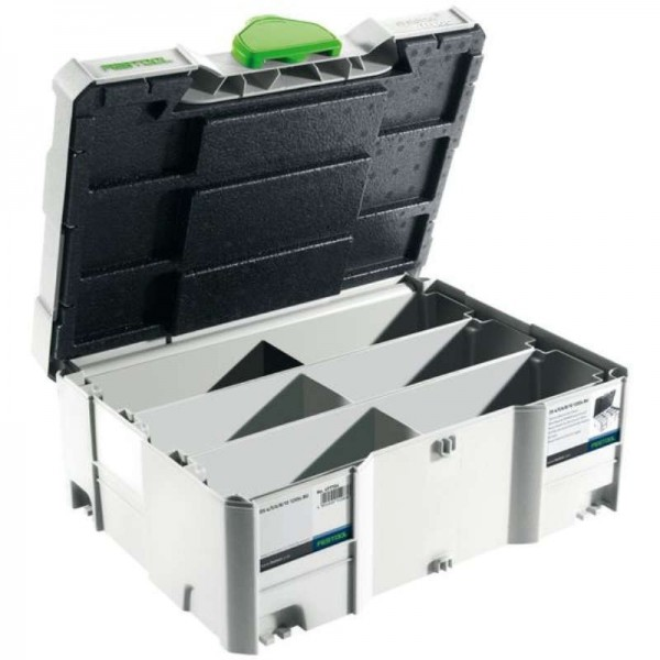 Festool - 498889 -  SYSTAINER T-LOC SORT-SYS 2 TL DOMINO - 1