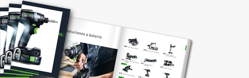 Imagen catálogo Festool 2021