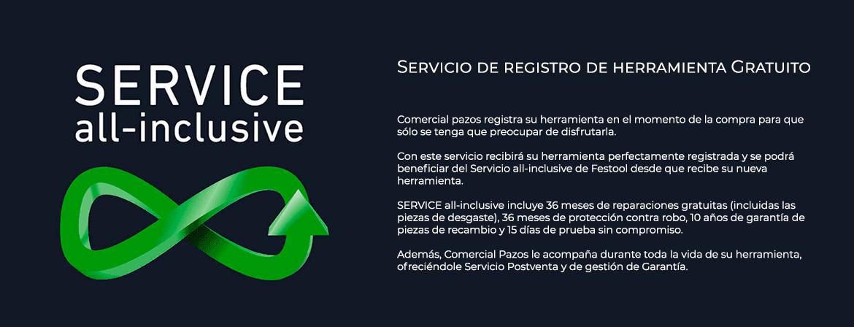 Comercial Pazos gestiona el Servicio All inclusive para su comodidad
