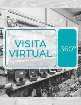 Visita virtual a la tienda física de Comercial Pazos