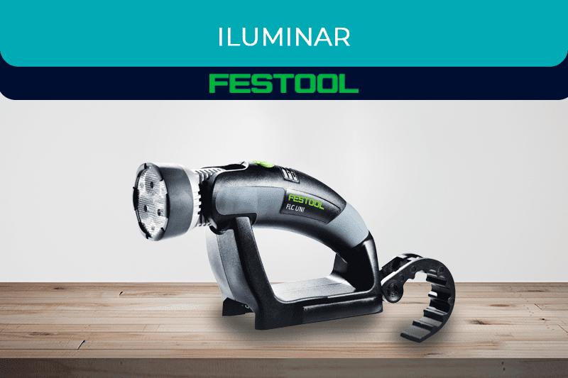 Máquinas para una iluminación profesional Festool